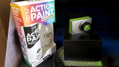 Action Paint Dashcam