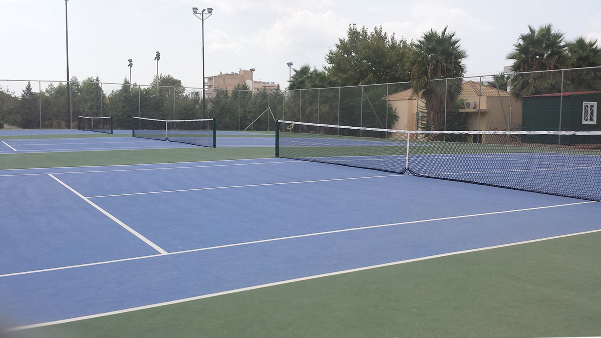 Construction of 3 tennis courts in the Municipality of Peristeri