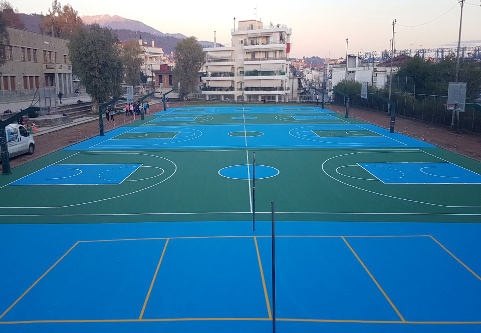 Athletic facilities in the municipality of Agrinio