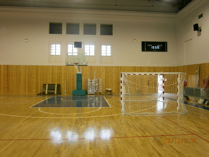 Supply and installation of equipment in the Sports Hall of the Municipality of Symi
