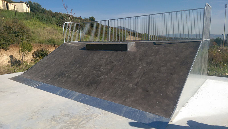Skatepark construction in the Municipality of Pilea-Chortiatis