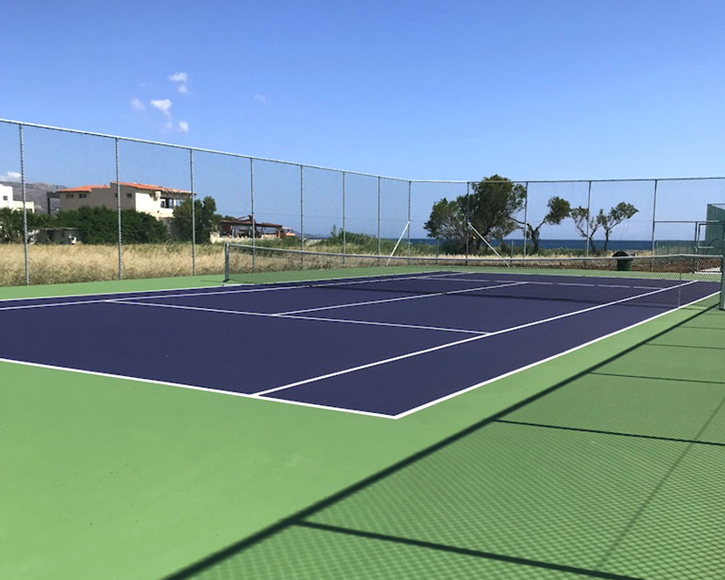 Sports floors and sports equipment at the EUPHORIA RESORT HOTEL