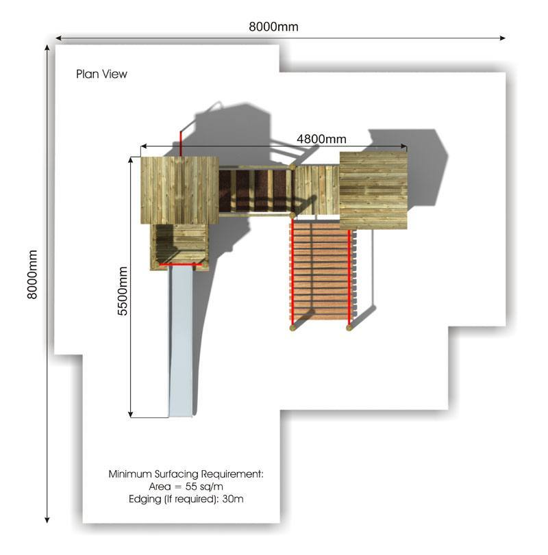 Beauchamp 5 Play Tower plan view
