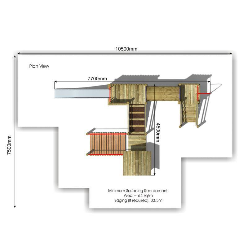 Beauchamp 6 Play Tower plan view