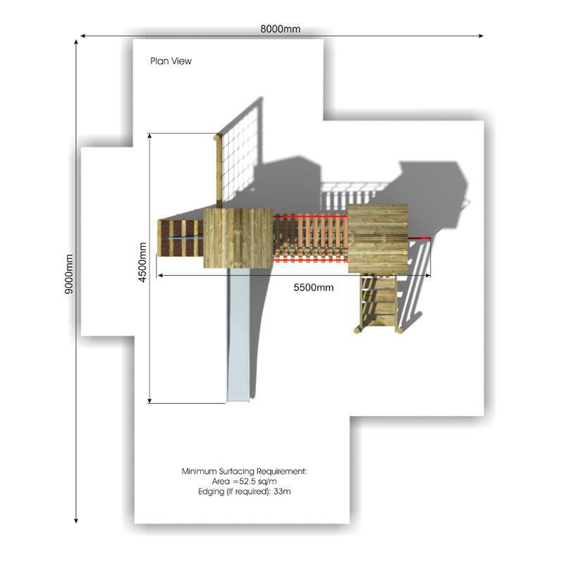 Litcham 2 Play Tower plan view