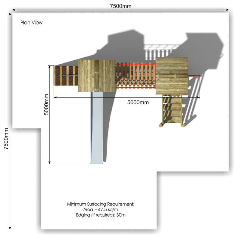 Litcham 3 Play Tower plan view