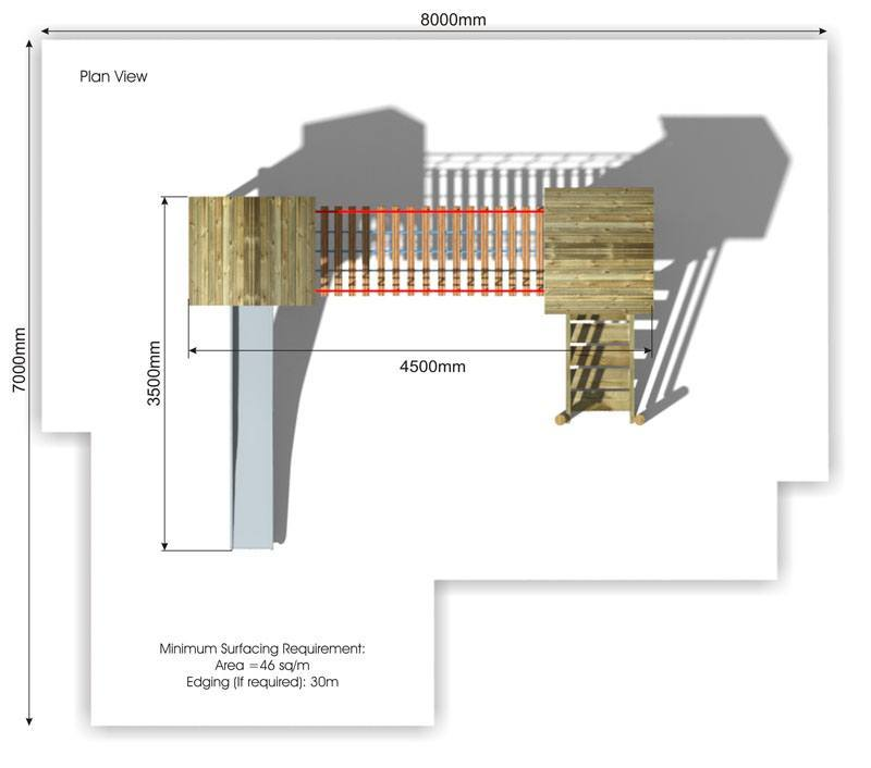 Litcham 9 Play Tower plan view