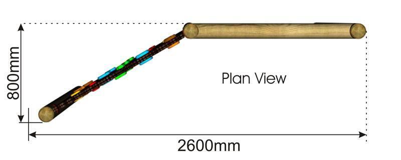 Net Climber plan view