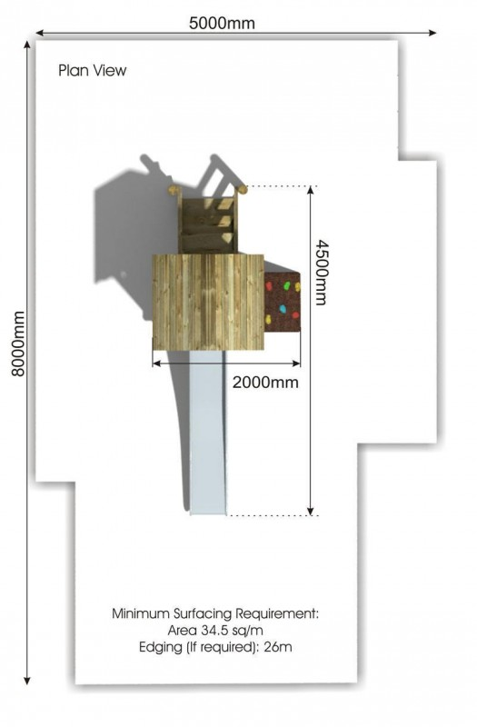Waxham 7 Play Tower plan view
