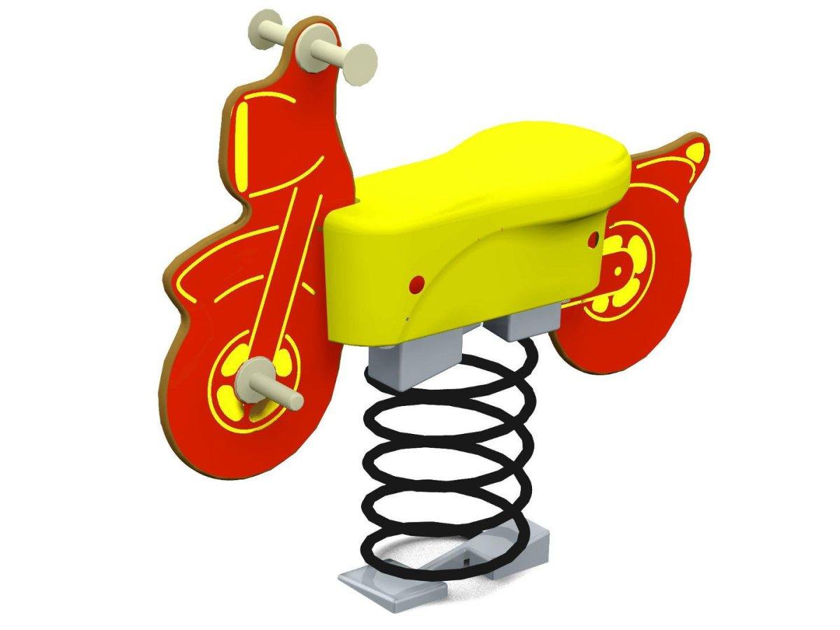 Motor Bike Springer