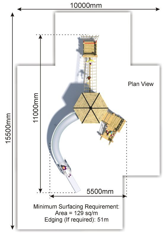 Sky Tower 6 plan view