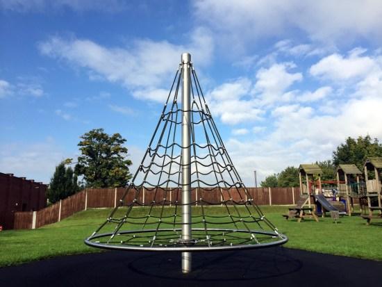 Three meter cone climber