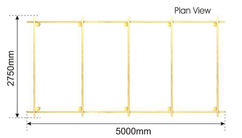 Arbour plan view