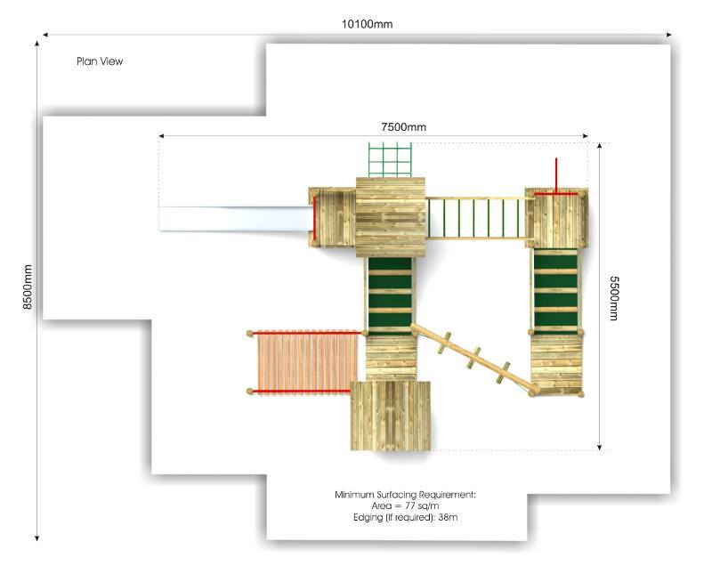 Beauchamp 8 Play Tower plan view