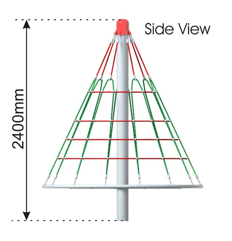 Cone Climber 2400 side view