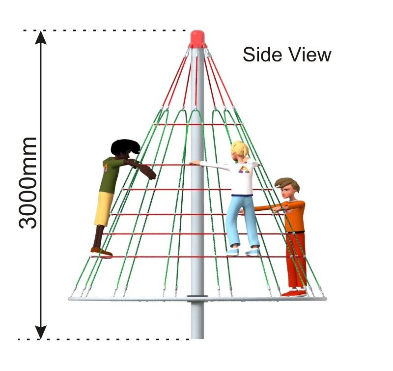 Cone Climber 3000 side view