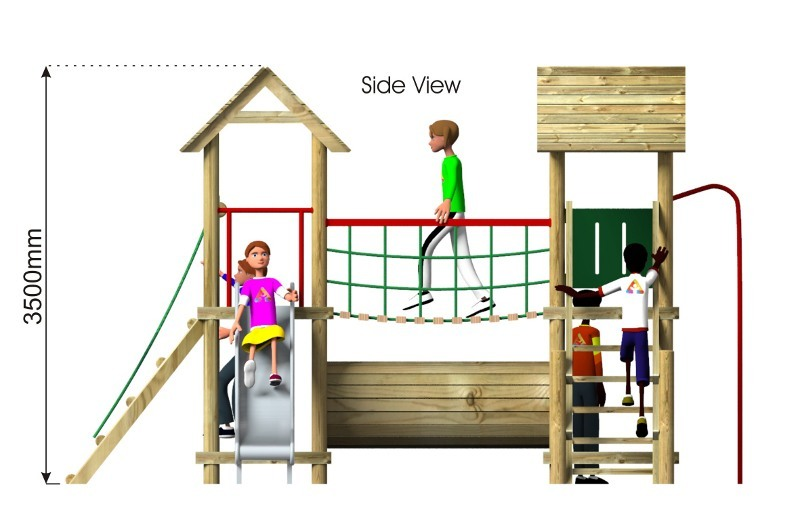 Litcham 2 Play Tower side view