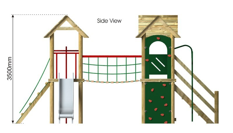Litcham 8 Play Tower side view