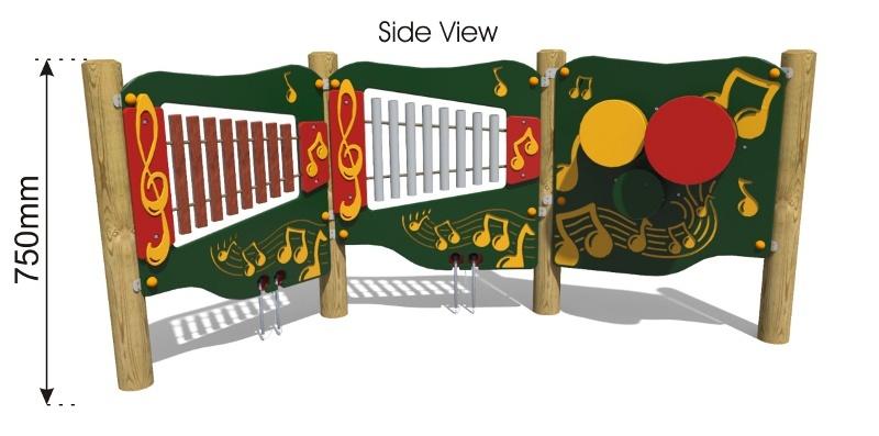 Music Corner side view