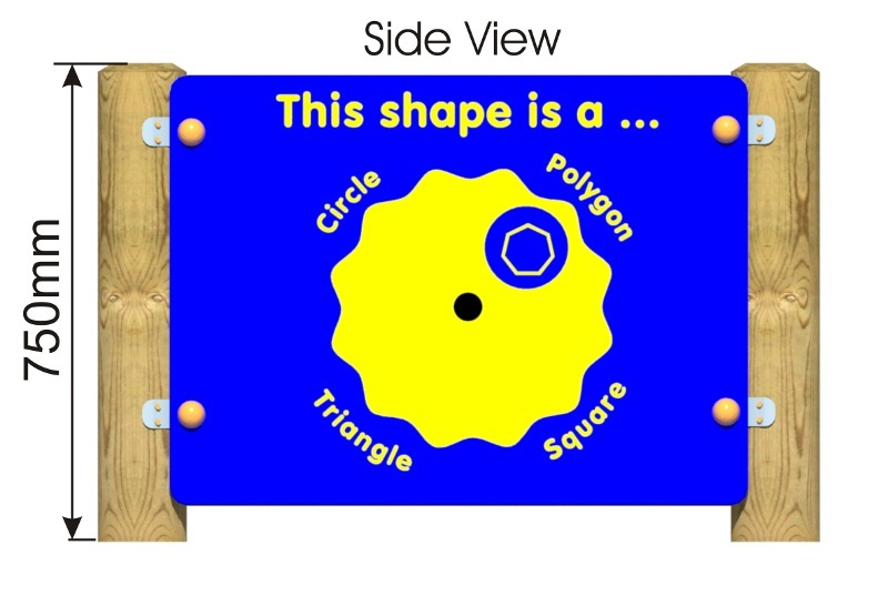 This Shape Is Panel side view