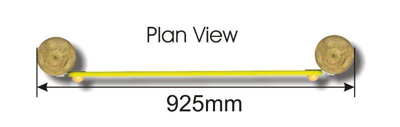 Twist Panel plan view