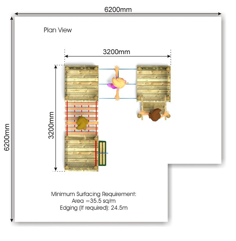 Waxham 13 Play Tower plan view