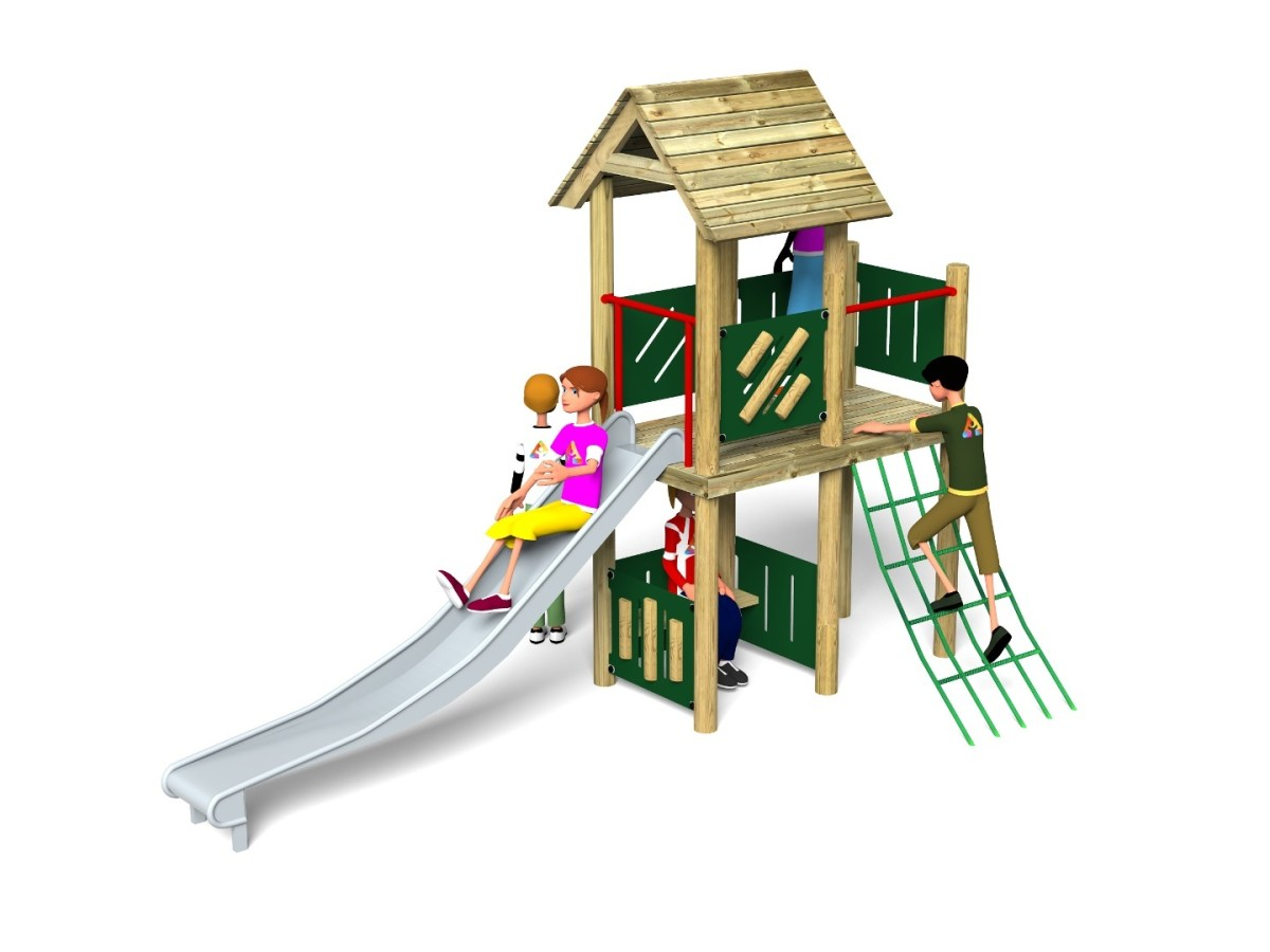 Litcham 1 Play Tower