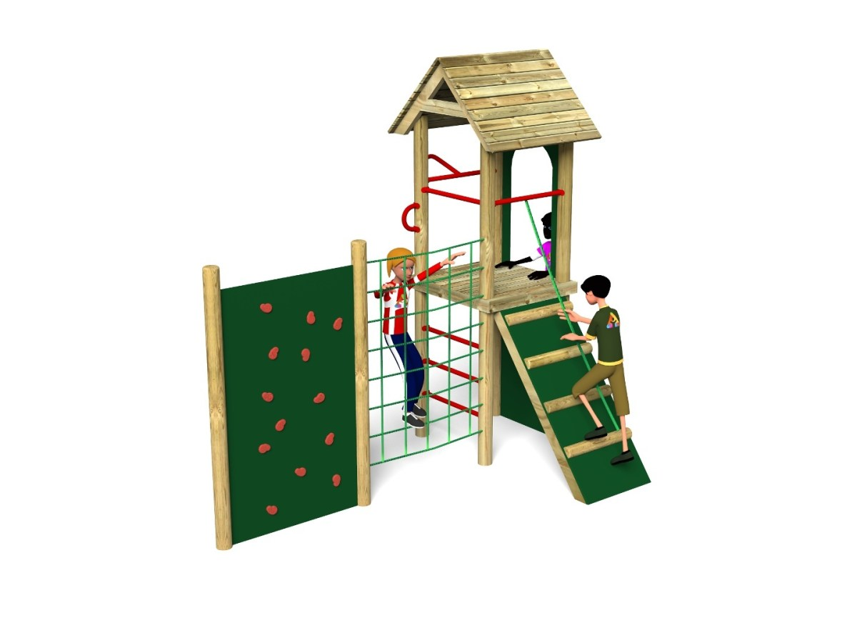 Litcham 11 Play Tower