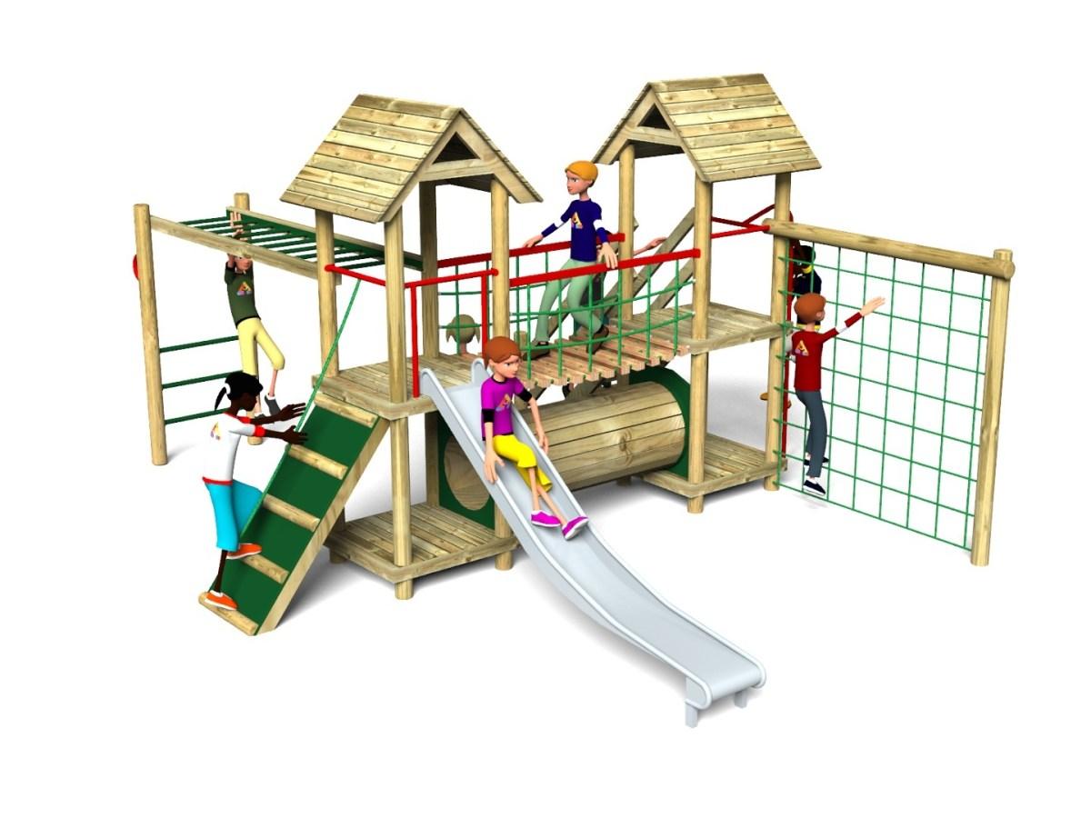 Litcham 13 Play Tower