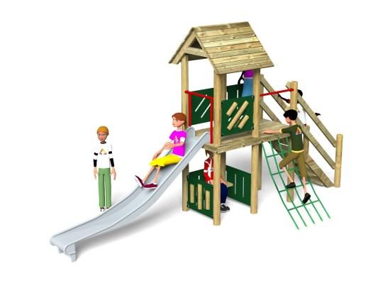 Litcham 18 Play Tower