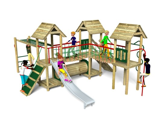 Litcham 7 Play Tower