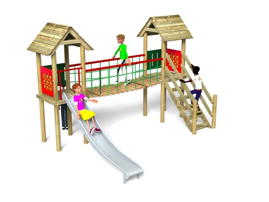 Litcham 9 Play Tower