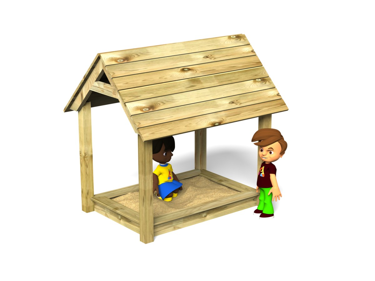 Sand Pit with Roof
