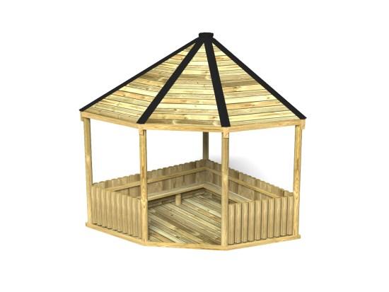 Bespoke Corner Shelter