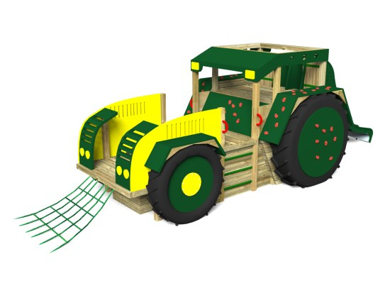Play Tractor with Slide