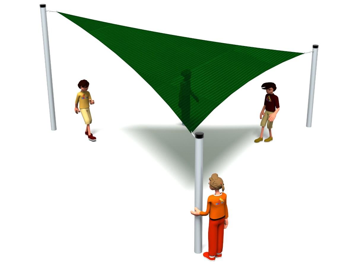 Triangular Sail Shade