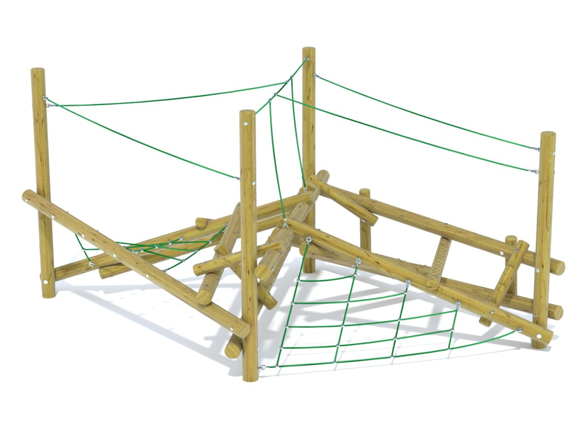 Forest Stack 5 Climbing Frame