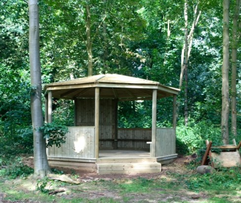 Forest School outdoor classroom