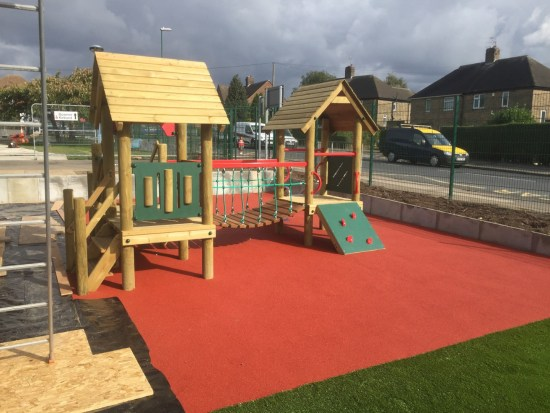 A Low Level Waxham 5 Toddler Play Tower