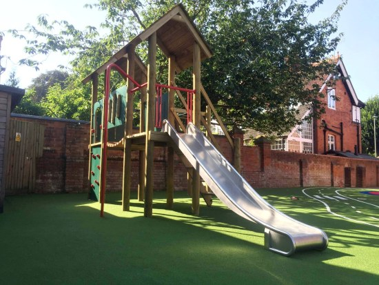 Litcham Play Tower and Artificial Grass