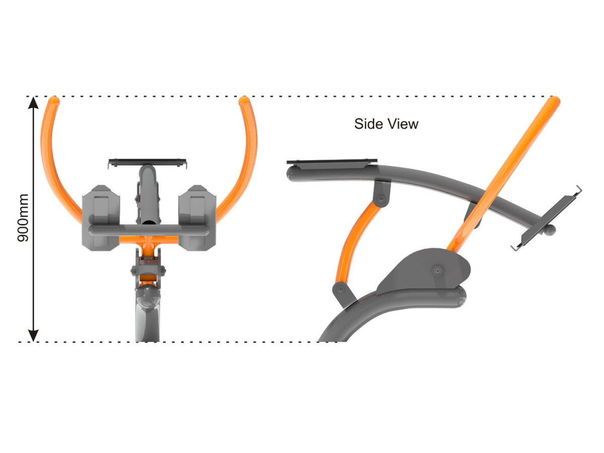 Rowing Machine side view