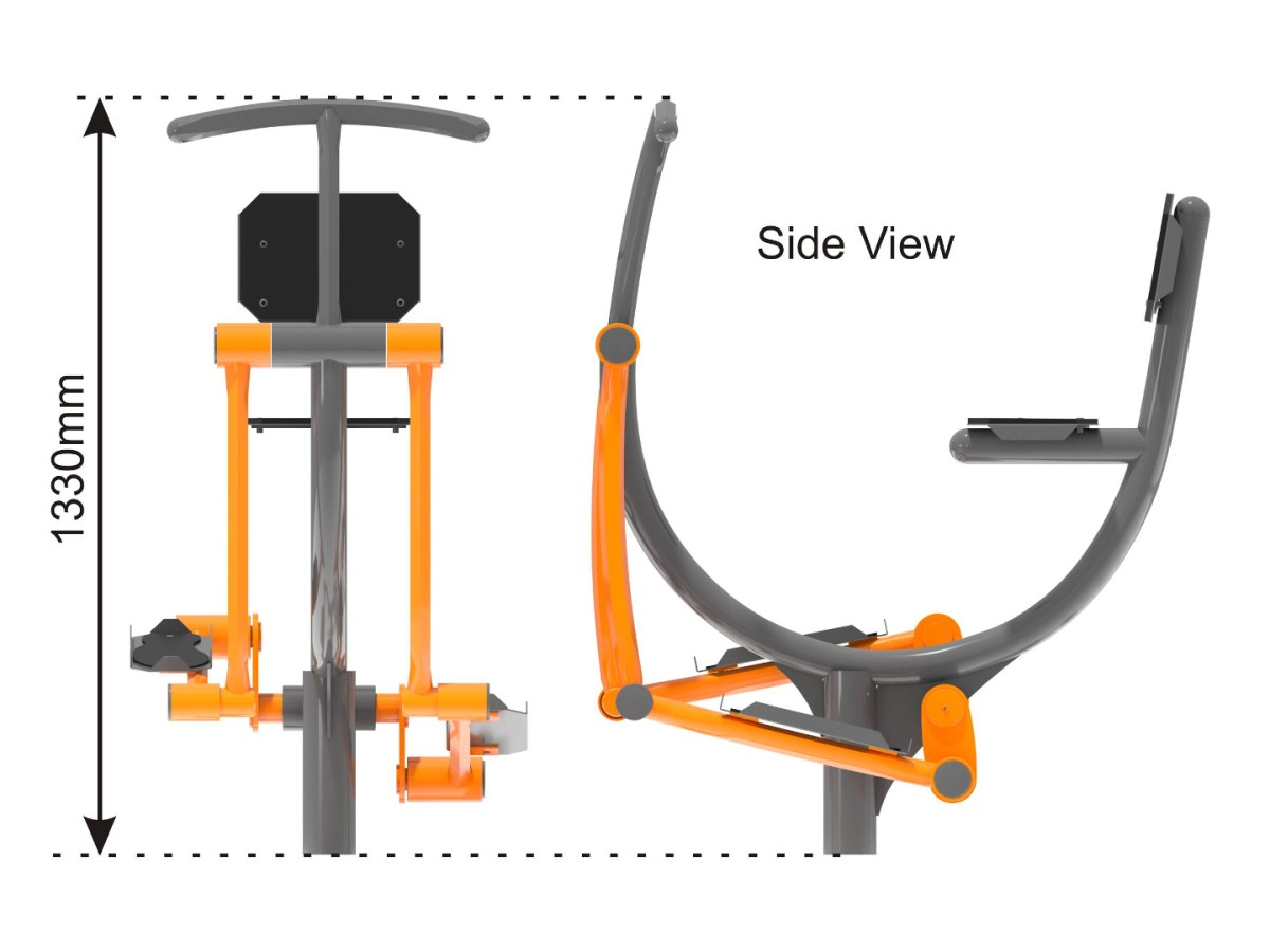 Exercise Bike side view