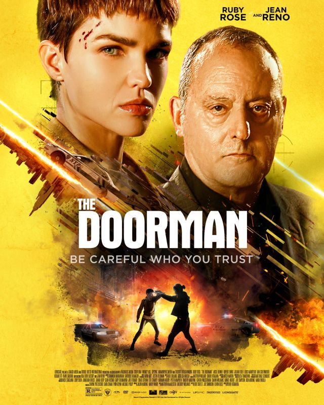 Ruby Rose and Jean Reno Star in THE DOORMAN Premiering on VOD - Action  Reloaded