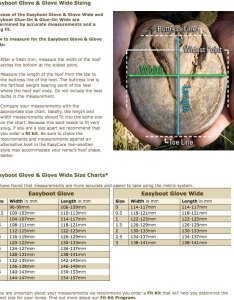If the width and length measurements are different by more than one size easycare hoof boots not recommended also easyboot glove rh actionridertack