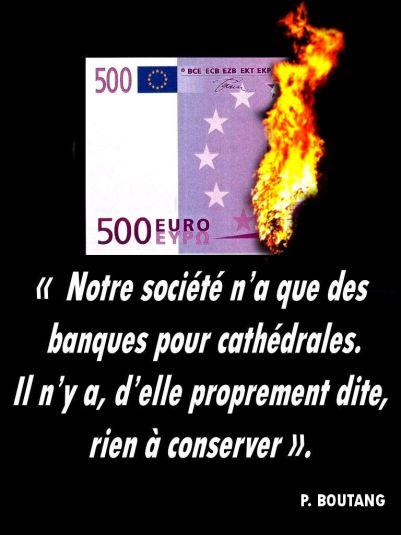 T-shirt citation Boutang