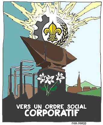 Vers un ordre social corporatif