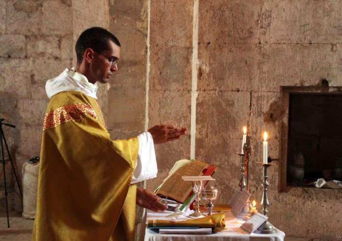 Messe au Krak des Chevaliers