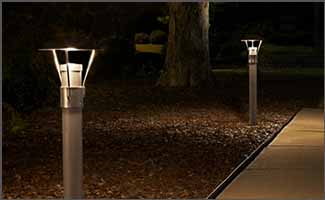 Bollard and Pathway Lighting Application - Education Center - Action Services Group