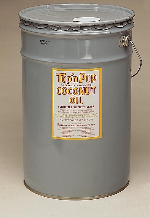 50 pound WHITE COCONUT OIL