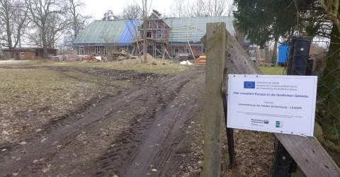 Vergabe von Bauaufträgen am Gutshaus Welzin